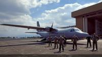Pesawat CN235 buatan Indonesia. Foto: RRI.