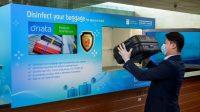 Desinfeksi Bagasi di Bandara Changi Singapura, Bunuh 99 Persen Virus