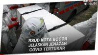 Jenazah COVID-19 tertukar di RSUD Kota Bogor