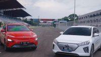 Hyundai Turunkan Kona Electric dan IONIQ di Lintasan Balap Sentul