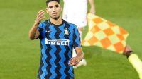 Tepis Gosip Dari London, Hakimi Bahagia di Inter