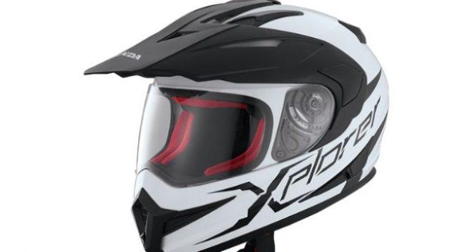 Ilustrasi helm dual sport. (astra-honda.com)