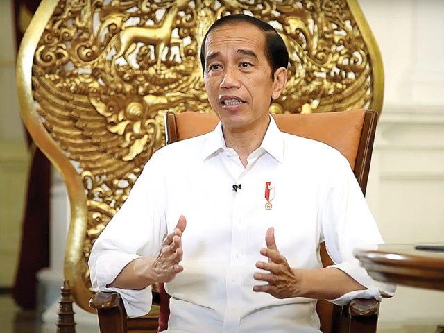 Presiden Jokowi Saksikan Piala Menpora 2021 Lewat Layar Televisi