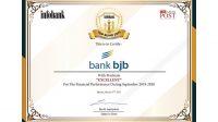 bank bjb Sabet Penghargaan Infobank Top BUMD Award 2021