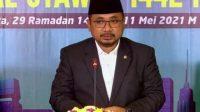 Dua Hari Raya Keagamaan Bersamaan, Menag: Perkuat Moderasi Agama