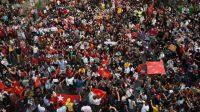 Pasukan Myanmar Lepas Tembakan, Akibatkan Lima Demonstran Tewas