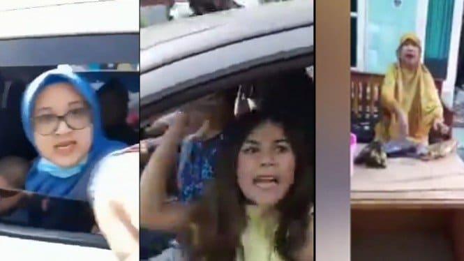 Viral Tiga emak-emak marah-marah (Instgaram/ndorobeii/lambe_turah)