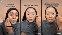Kocak, Wanita Ini Bagikan Tutorial Makeup Istri Simpanan (tiktok.com/@inivindy)