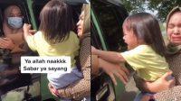 Viral anak menangis ditinggal pengasuhnya mudik (Foto/Instagram/iesalhouse)