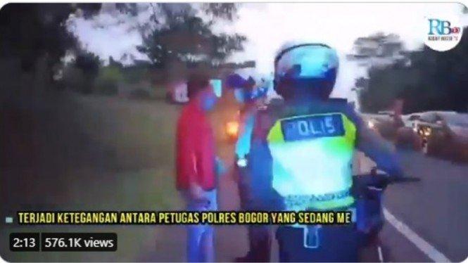 Polisi Berseteru dengan Pria Ngaku Asisten Pejabat PSSI.