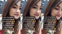 Viral Wanita Cantik dan Pelakor minta ke Israel (TikTok/inggridqueen_)