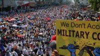 Aksi Mogok Massal, Bahaya Kelaparan dan Penyakit Ancam Myanmar