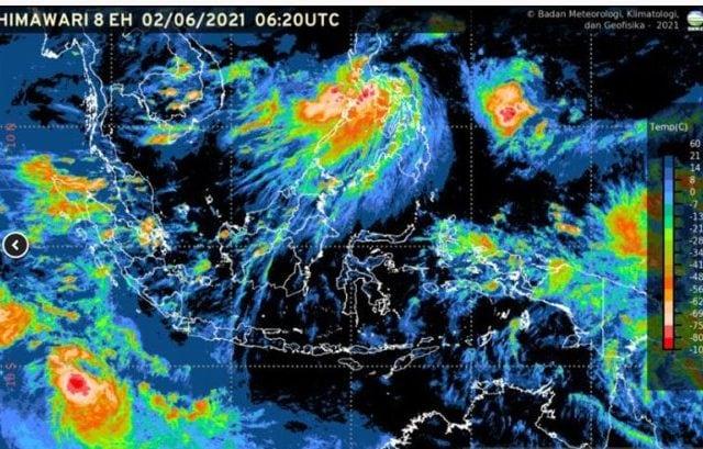 BMKG Peringatkan Hujan, Kilat, dan Angin Kencang di Sejumlah Wilayah