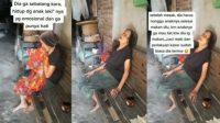 Viral anak tak sudi makan dengan ibunya (Instagram/energisolo)