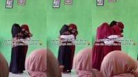 Viral anak sedih tidak bisa memeluk ibu kandungnya (Instagram/makassar_iinfo)