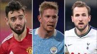 Delapan Pemain Bersaing Menangi Penghargaan Pemain Terbaik Liga Inggris 2020/21 - Gilabola.com