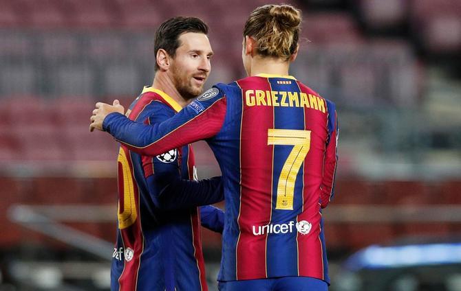 Griezmann Bantah Keretakan Hubungan Dengan Messi