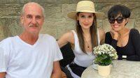 Cinta Laura bersama ayah dan ibunya. [Instagram]