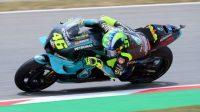 Rossi, Marquez Tak Finis, GP Catalunya Sarat Kutukan pada Rider Senior