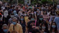 Singapura Sukses Turunkan Kasus Covid-19, Warga Boleh Kumpul-kumpul