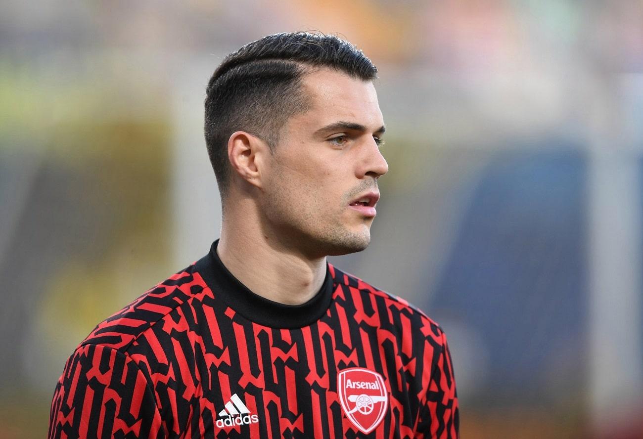 Xhaka Masih Enggan Bahas Peluangnya Tinggalkan Arsenal dan Gabung Roma - Gilabola.com