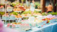Ilustrasi makanan di pesta pernikahan. (Pexels/Fu Zhichao)