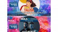 Honne dan Vira Talisa Tampil di Mola Chill Fridays Malam ini