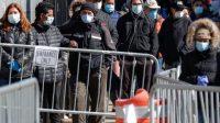 Kasus Covid-19 Meningkat, AS Kembali Wajibkan Pemakaian Masker