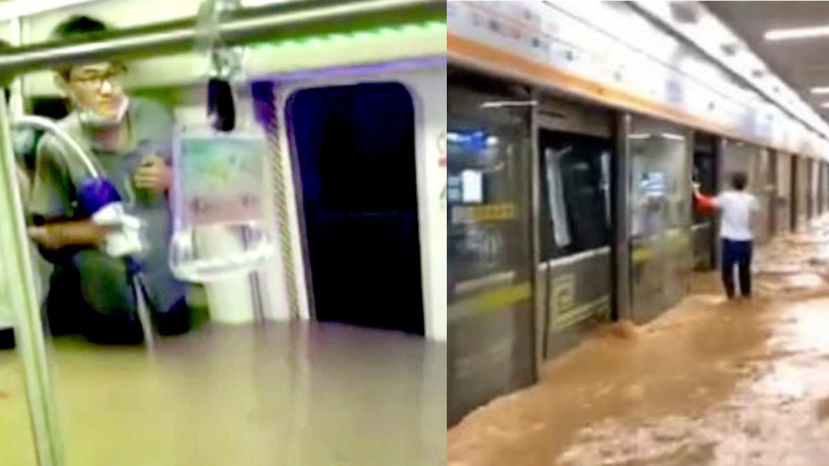 'Mama, Aku Tidak Akan Selamat': Momen Horor Saat MRT di Tiongkok Terendam Banjir