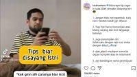 Tips agar semakin disayang istri ala Teuku Wisnu. (Instagram/@teukuwisnu)