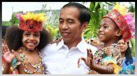 Kegiatan Presiden Jokowi bersama anak-anak sebelum pandemi Covid-19. Foto: Ist