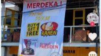 Promo warung ramen tidak berlaku untuk Presiden.