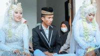 Viral Pria Nikahi Dua Wanita, Netizen: Suhu, Angkat Aku Jadi Muridmu!