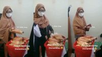Wanita Ini Terciduk, Barang Curiannya Ditutupi Jilbab Panjangnya (instagram/tante_rempong_officiall)