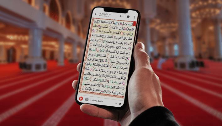 Aplikasi Alquran. Foto: Quran Best