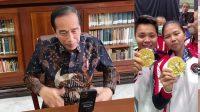 Raih Emas Olimpiade, Jokowi Langsung Video Call Greysia dan Apriyani