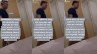 Viral Video Pria Kabur setelah 'Main' di Kamar Hotel (Instagram/kamerapengawas)